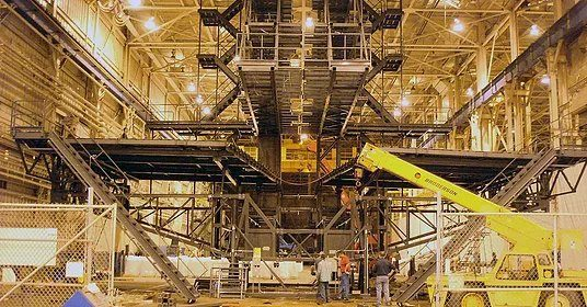 Assembly of Large Multi-Million Dollar Steel Structure