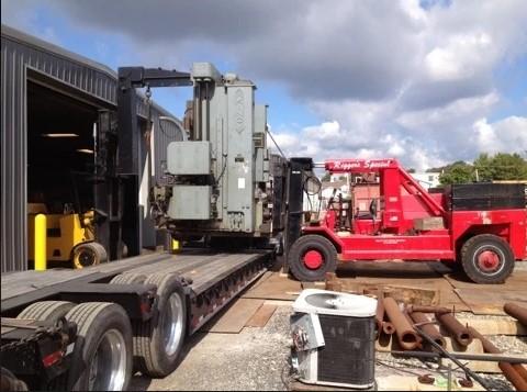 Loading Rigging Equipment on the Trailer