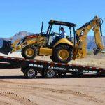 Transporting CAT Construction Equipment