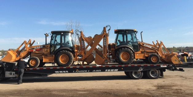 Transporting Case Machinery