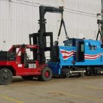 Moving Industrial Rigging Equipment