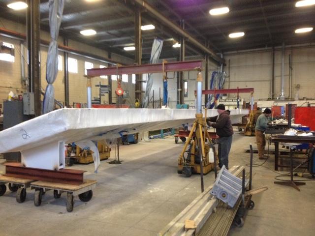 40 ton gantry crane pick stairway