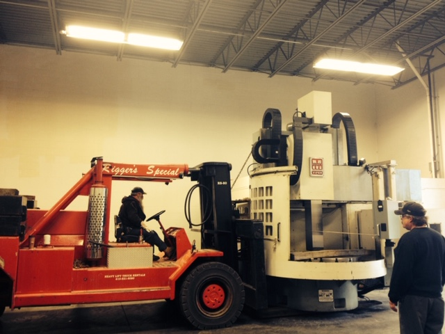 moving industrial equipment