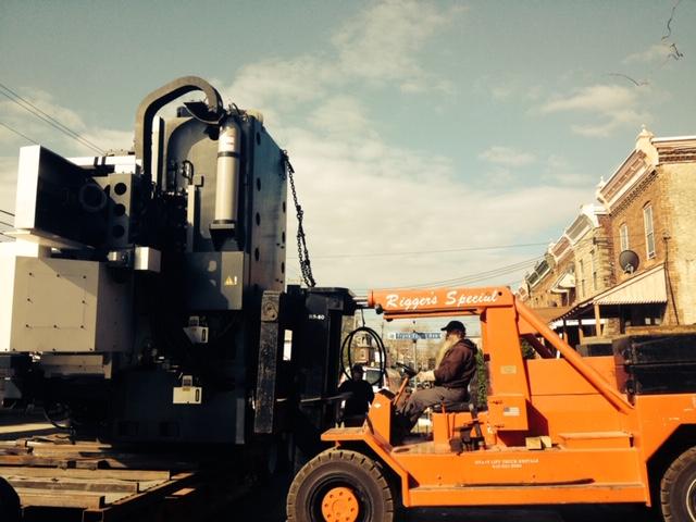 Equip Trucking Rigger's Machine