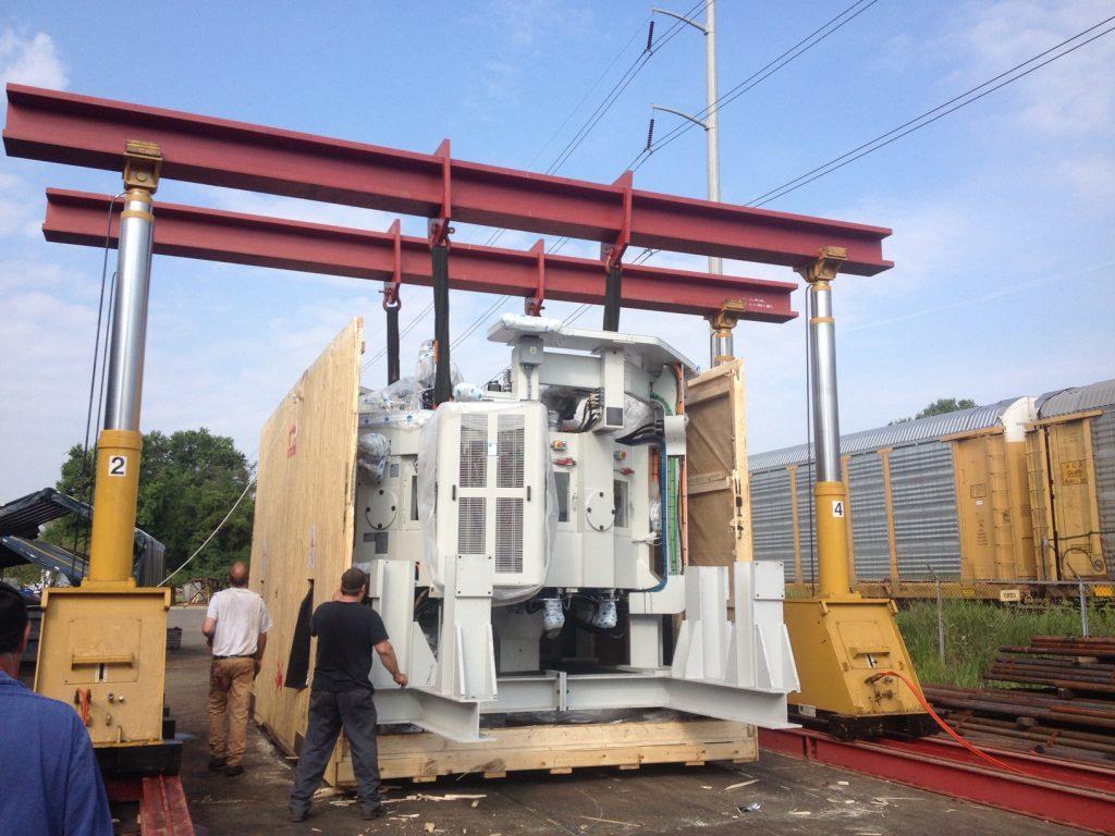 Moving Heavy Equipment