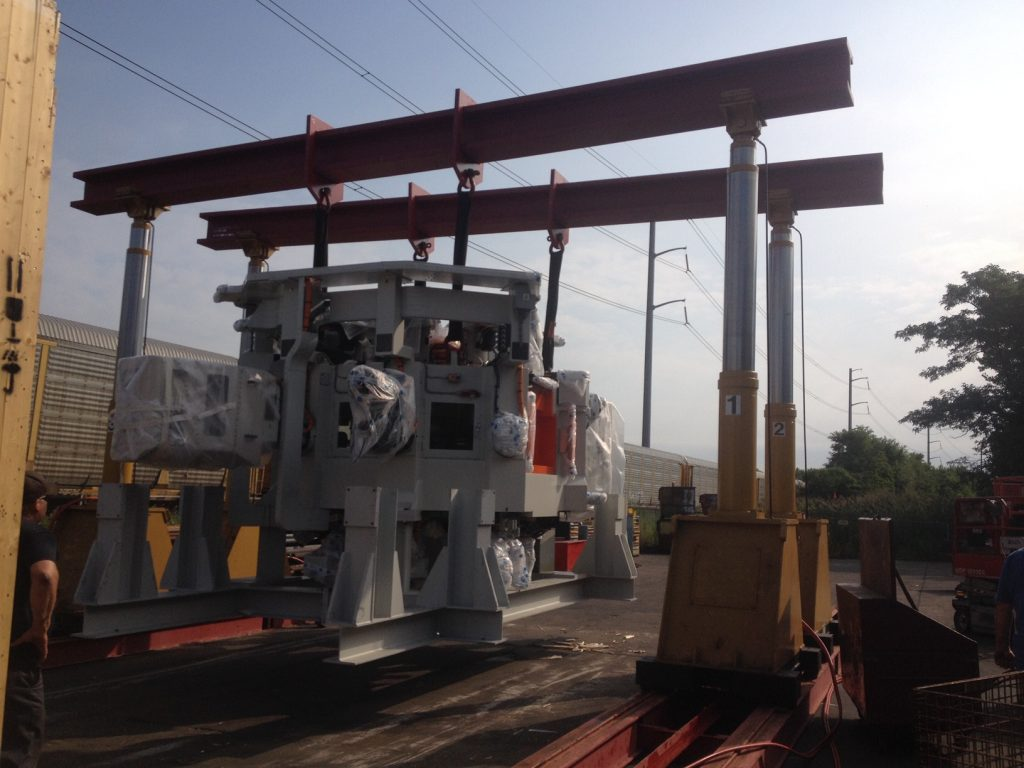 Equip Trucking Industrial Machinery