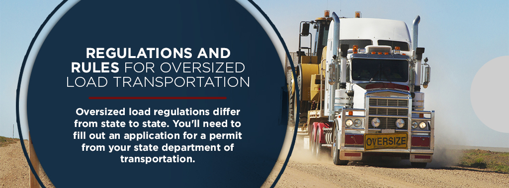 rules and regulations for oversize loads