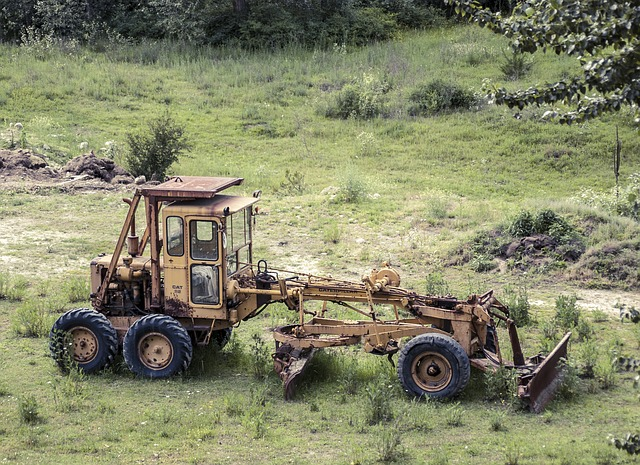 Old Construction Equipment